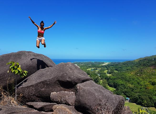 Jump Pictures Seychelles